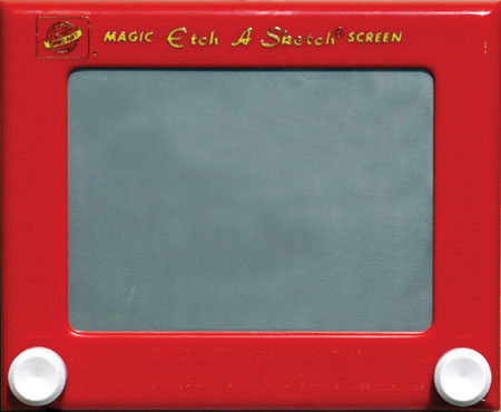 Life As an Etch-A-Sketch