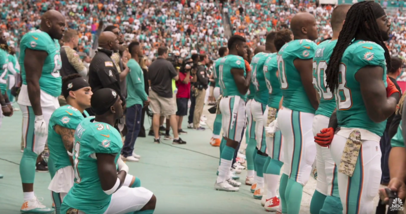 The NFL's National Anthem Failure